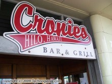 Cronies hilo photo